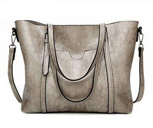 EssVita Sacs à main Femme sacs à bandoulière PU cuir Poignée supérieure Cartable Messager Sac de la marque image 0 produit