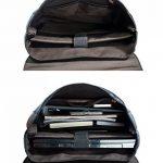 """Estarer Sacoche Ordinateur Portable 15.6"""" Sac à dos Femme Cuir Cartable Sac porté dos Scolaire Fille Backpack de la marque image 5 produit"""