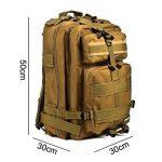 Eyourlife Sac à Dos Tactique 40L Sac de Randonnée Backpacks Multifonctionnel Camouflage Militaire Sac d'Alpinisme Camping Voyage Sac Classique 40L RFID Blocage de la marque image 1 produit