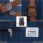 Fafada Sac à Dos Unisexe Enfant Toile Canvas Vintage Sac de Randonnée Cartable Sac à Dos pour Voyage Trekking Camping Ecole de la marque Fafada image 4 produit