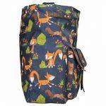 Freddie Fox et écureuil Imprimé Selle Style Fermeture Éclair Sac à bandoulière de la marque image 3 produit