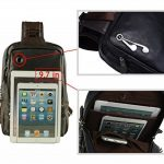 FreeMaster Petit sac à dos de sport à bandoulière en simili cuir Idéal pour randonnée/camping/VTT de la marque FreeMaster image 5 produit