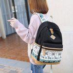Fresion grand capacité Toile sac à dos pour Université scolaire Pour Hommes et Femmes Adaptateur 14 portable de la marque Fresion image 4 produit