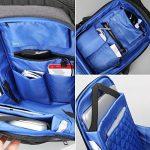 Fresion Laptop Backpack 15.6'' Waterproof Anti Theft Bag Multipurpose College Rucksack Business Daypack for Men Women de la marque Fresion image 3 produit