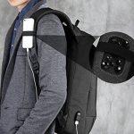 Fresion Laptop Backpack 15.6'' Waterproof Anti Theft Bag Multipurpose College Rucksack Business Daypack for Men Women de la marque Fresion image 5 produit