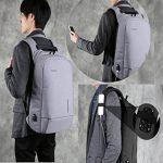 Fresion Laptop Backpack 15.6'' Waterproof Anti Theft Bag Multipurpose College Rucksack Business Daypack for Men Women de la marque Fresion image 6 produit