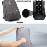 Fresion Laptop Backpack 15.6'' Waterproof Anti Theft Bag Multipurpose College Rucksack Business Daypack for Men Women de la marque image 3 produit