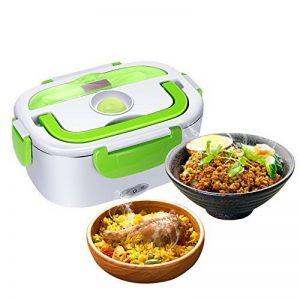 GHB Boîte Chauffante Lunch Box Chauffante Électrique Boîte Alimentaires Boîte Repas en Acier Inoxydable à Pique-nique de la marque GHB image 0 produit