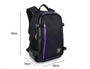 Goin Sac à dos pour appareil photo sac à dos pour appareil photo DSLR SLR Sac pour Appareil photo avec sangle pour Trépied pour Canon Nikon Sony Olympus Pentax et etc. de la marque Pbreack image 2 produit