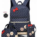 Greeniris fille poids léger sac à dos femme voyage vintage mignonne sac à dos pour les enfants 3pcs de la marque Greeniris image 1 produit