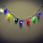 Guirlande Lumineuse Prénom Personnalisable 8 LED ou 20 LED, Guirlande personnalisée Lumière enfant - guirlande enfant de la marque Direckafo image 4 produit