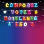 Guirlande Lumineuse Prénom Personnalisable 8 LED ou 20 LED, Guirlande personnalisée Lumière enfant - guirlande enfant de la marque Direckafo image 5 produit