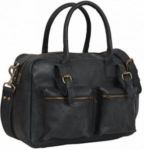 """Gusti Cuir studio """"Logan"""" sac pour appareil photo sacoche pour appareil photo en cuir étui et housse pour appareil photo cuir de buffle homme femme noir 2M27-17-3 de la marque Gusti image 0 produit"""
