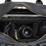 """Gusti Cuir studio """"Logan"""" sac pour appareil photo sacoche pour appareil photo en cuir étui et housse pour appareil photo cuir de buffle homme femme noir 2M27-17-3 de la marque Gusti image 2 produit"""