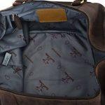"""Gusti Cuir studio"""" Ruben"""" sac de voyage bagage cabine sac de sport sac à bandoulière sac avec anses cuir naturel cuir de vachette sac en cuir besace cabas en cuir unisexe 2R1-20-4wp de la marque Gusti image 3 produit"""