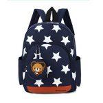 Gwell Sac à Dos Enfant Sac Maternelle Fille Garçons Motif étoile avec Pendentif Ours de la marque Gwell image 1 produit