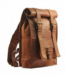handmadecraft indien vintage hommes sac à dos de sac à dos en cuir Vintage Sac en Bandoulière Taille M de la marque image 0 produit