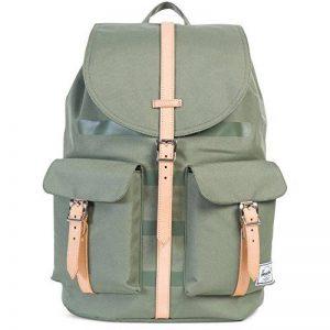 """Herschel Dawson Vert sac à dos - sacs à dos (Vert, Monotone, 33 cm (13""""), Poche frontale, Cordon, 285,8 mm) de la marque image 0 produit"""