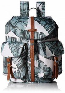 Herschel Dawson X-Small Silver Birch Palm/Tan Synthetic Leather de la marque image 0 produit