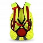Housse de sac à dos haute visibilité Avec lumières LED clignotantes Étanche de la marque Carribrite image 2 produit