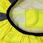 Housse de sac à dos haute visibilité Avec lumières LED clignotantes Étanche de la marque Carribrite image 5 produit