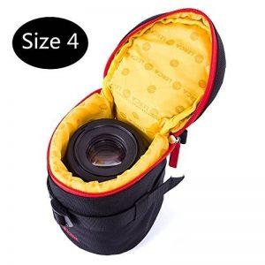 Huntvp Pochettes De Lentilles De Caméra Housse Lens Case Poches De Protection Résistant Aux Chocs Pour Objectifs d'Appareils Photo Sacs Pour Caméra DSLR SLR de la marque Huntvp image 0 produit
