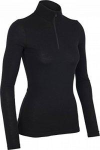 Icebreaker Sous vêtement thermique manches longues 1/2 zip Femme de la marque image 0 produit