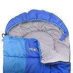 IREGRO Sac de Couchage 2,2 KG 500 GSM pour - 15℃ ~ 0℃ ~ 5 ℃ 190 T Super Chaude Imperméable Polyester le corps Source enveloppe sac de couchage pour le Camping, randonnée et plein air de la marque image 3 produit