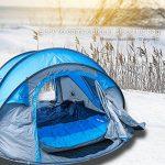 IREGRO Sac de Couchage 2,2 KG 500 GSM pour - 15℃ ~ 0℃ ~ 5 ℃ 190 T Super Chaude Imperméable Polyester le corps Source enveloppe sac de couchage pour le Camping, randonnée et plein air de la marque image 6 produit