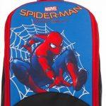 Jeu sac à dos - MARVEL SPIDERMAN HOMECOMING - 2in1 cartable scolaire und Klettball-Dartboard - noir bleu 9Lt de la marque Seven image 1 produit