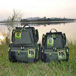 JK Sac à dos de pêche avec outils et plateaux de rangement de la marque JK Sports & Leisure image 6 produit