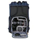 K&F Concept KF13.066 Sac à Dos Appareil Photo Sac dslr Sac de Voyage avec Housse Imperméable Inclus pour DSLR Canon Nikon Sony Olympus de la marque image 3 produit