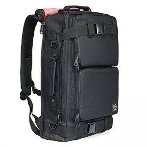 KAUKKO Vintage Toile sac à dos hommes et femmes Casual d'escalade voyage plein air Alpinisme Sac à dos avec une grande capacité de la marque image 0 produit