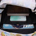 KING DO WAY Sac À Dos Loisir Cartable Scolaire College Voyage Pour Enfant Femme Homme Backpack Blanc 32cmX13cmX42cm de la marque KING DO WAY image 4 produit