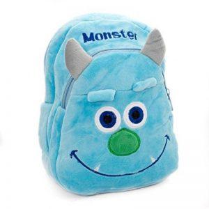 Lantelme 5749 enfants sac à dos pour jardin d'enfants - Crèches et de voyage - Monster Maxi couleur bleu et gris de la marque Lantelme image 0 produit