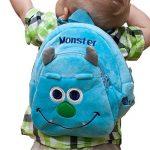 Lantelme 5749 enfants sac à dos pour jardin d'enfants - Crèches et de voyage - Monster Maxi couleur bleu et gris de la marque Lantelme image 1 produit