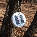 Lanterne camping solaire gonflable Aidier - Éclairage d'urgence pour camping, patio, randonnée, pêche, pique-nique 4-PACK claire de la marque image 2 produit