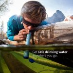 LifeStraw Personal - Filtre d'eau personnelle pour la randonnée, le camping, le voyage, les sports en plein air, en situation d'urgence. Enlève bactéries et protozoaires de la marque LifeStraw image 2 produit