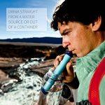 LifeStraw Personal - Filtre d'eau personnelle pour la randonnée, le camping, le voyage, les sports en plein air, en situation d'urgence. Enlève bactéries et protozoaires de la marque LifeStraw image 3 produit