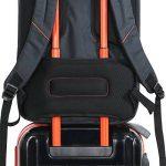 Lifewit Sac à Dos pour Ordinateur Portable de 17 Pouces en Nylon Imperméable Noir de la marque Lifewit image 5 produit