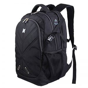 Lifewit Sac à Dos pour 17,3 pouces Ordinateur Portable Antichoc Grande Capacité avec Couverture Noir de la marque Lifewit image 0 produit