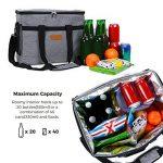 Lifewit Sac Isotherme de Repas Portable 30L Pour Déjeuner Plage Pique-Nique Camping BBQ de la marque image 3 produit