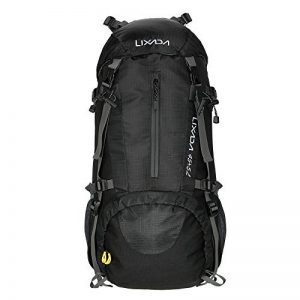 Lixada 45L + 5L Sac à dos avec Housse Imperméable pour Sport Randonnée Trekking Camping Backpack Voyage Paquet Alpinisme Escalade de la marque image 0 produit