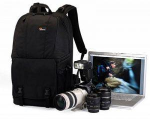 """Lowepro Fastpack 350 Quick Access sac à dos for SLR Kit, 17"""" Notebook and General Gear - Black de la marque Lowepro image 1 produit"""