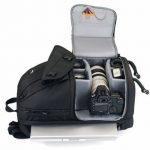 """Lowepro Fastpack 350 Quick Access sac à dos for SLR Kit, 17"""" Notebook and General Gear - Black de la marque Lowepro image 2 produit"""
