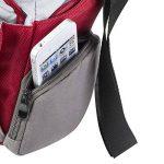 Mantona SportsBag SLR sac appareil photo pour Bridge / Camcorder / Micro SLR / appareil photo SLR / Actioncam, couleur rouge de la marque Mantona image 2 produit