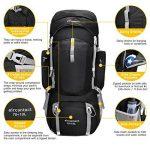 Mardingtop 70L+10L sac à dos de randonnee sports en plein air avec couverture de pluie pour l'alpinisme, le camping, le trekking, les voyages et l'escalade de la marque image 2 produit