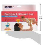 MEDca Sacs de Stockage de Lait Maternel, 100 pièces, sans BPA 6 oz / 180 ml de la marque image 4 produit