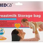 MEDca Sacs de Stockage de Lait Maternel, 100 pièces, sans BPA 6 oz / 180 ml de la marque image 5 produit