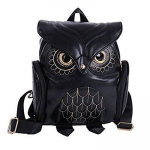 Mini sac Mode Owl Cartoon Sac à dos Filles Pu cuir de la marque image 0 produit